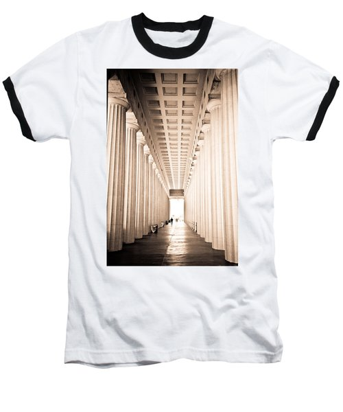 The Columns At Soldier Field Baseball T-Shirt