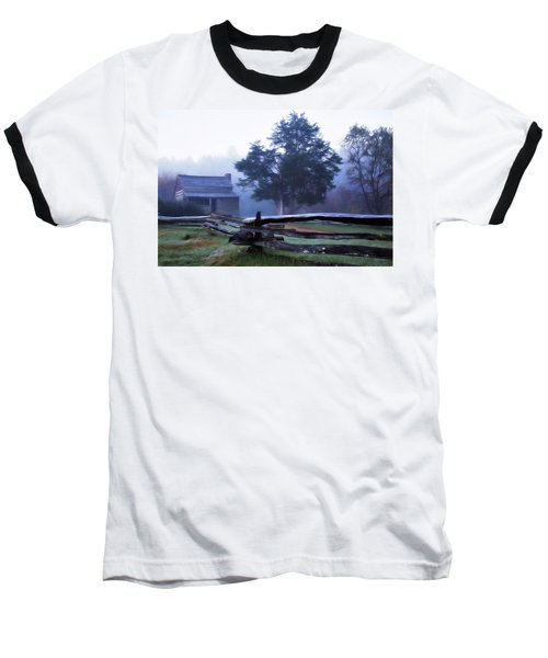 Baseball T-Shirt featuring the photograph The Dan Lawson Place by Lana Trussell