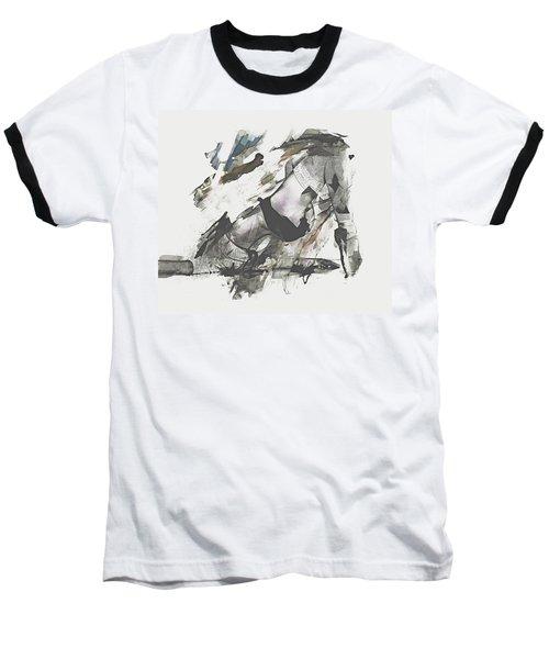 Baseball T-Shirt featuring the digital art The Dancer by Galen Valle