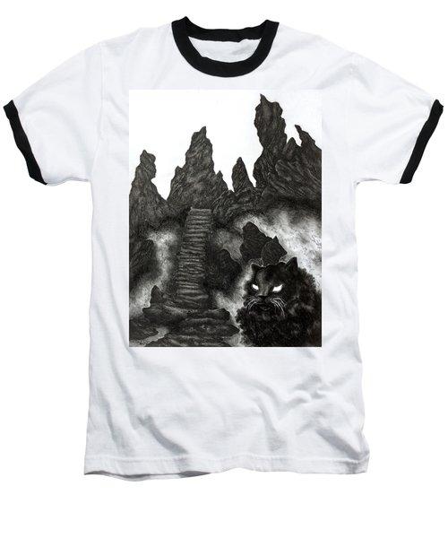 The Demon Cat Baseball T-Shirt