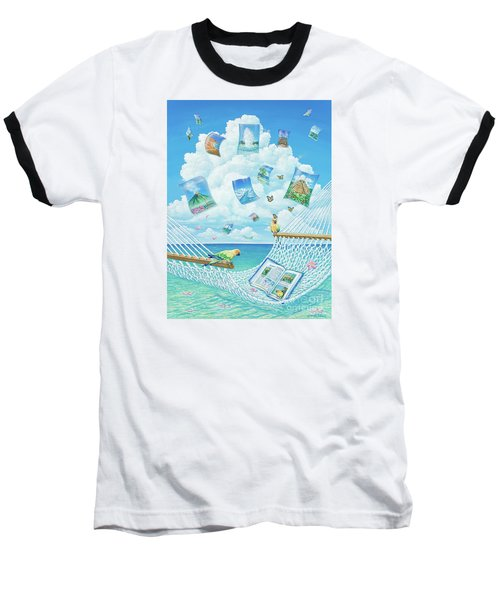 The Destinations Of A Dream Baseball T-Shirt