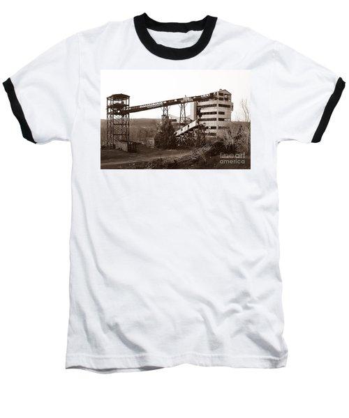 The Dorrance Coal Breaker Wilkes Barre Pennsylvania 1983 Baseball T-Shirt