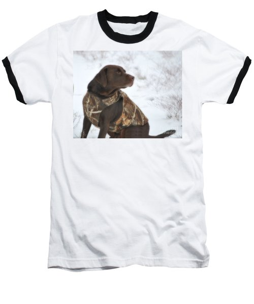 The Duck Dog Iv Baseball T-Shirt by Donna Greene