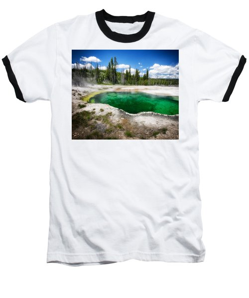The Emerald Eye Baseball T-Shirt