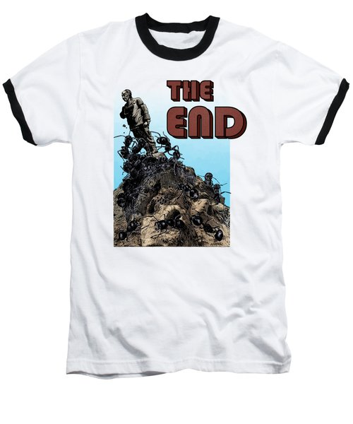 The End Baseball T-Shirt by Joseph Juvenal