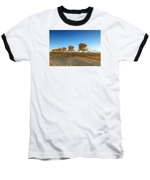 The End Of Summer Baseball T-Shirt by Everette McMahan jr