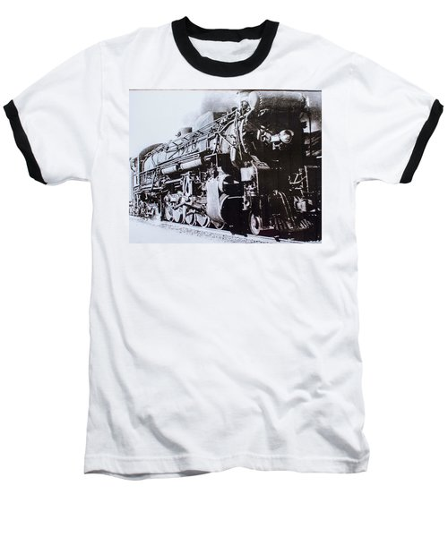 The Engine  Baseball T-Shirt