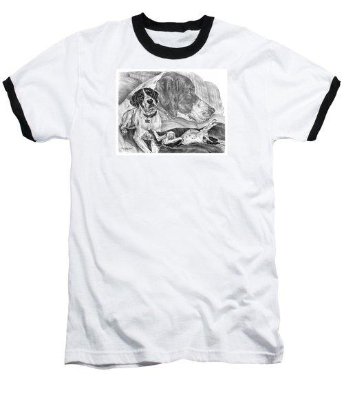 The English Major - English Pointer Dog Baseball T-Shirt