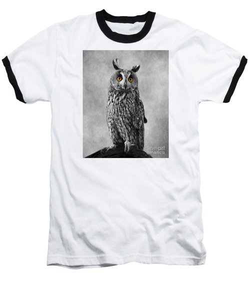 The Eyes Have It Baseball T-Shirt by Linsey Williams