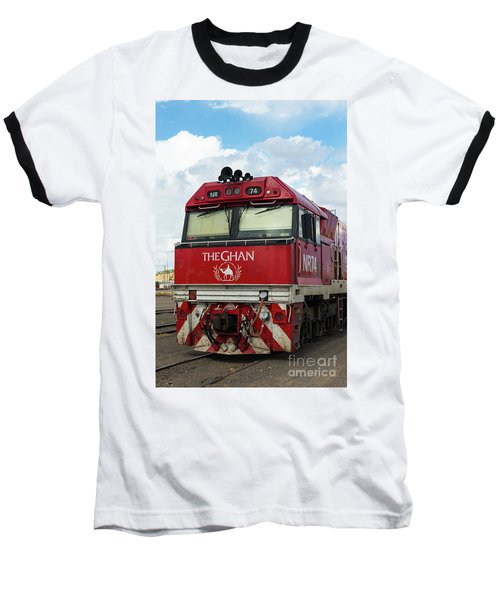 The Famed Ghan Train  Baseball T-Shirt