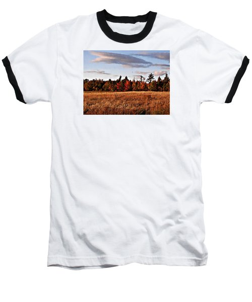 The Field At The Old Farm Baseball T-Shirt by Joy Nichols