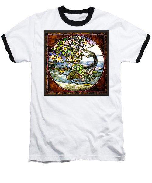 The Fish Baseball T-Shirt by Joseph Skompski