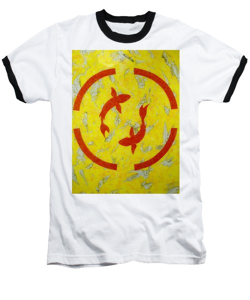 The Fishes Baseball T-Shirt