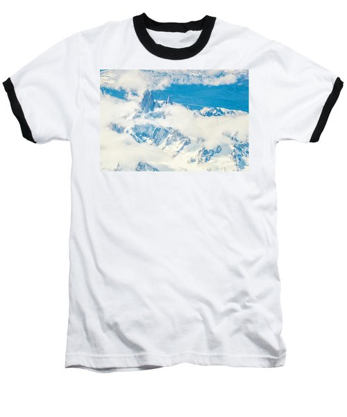 Baseball T-Shirt featuring the photograph The Fitz Roy by Andrew Matwijec