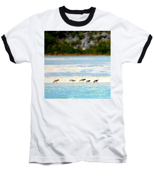 The Five Sandpipers Baseball T-Shirt