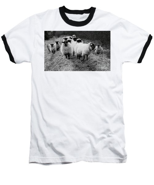 The Flock 1 Baseball T-Shirt