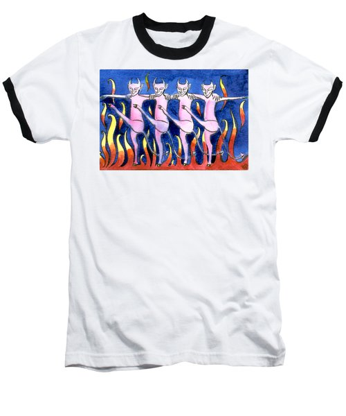 The Floorshow In Hell Baseball T-Shirt