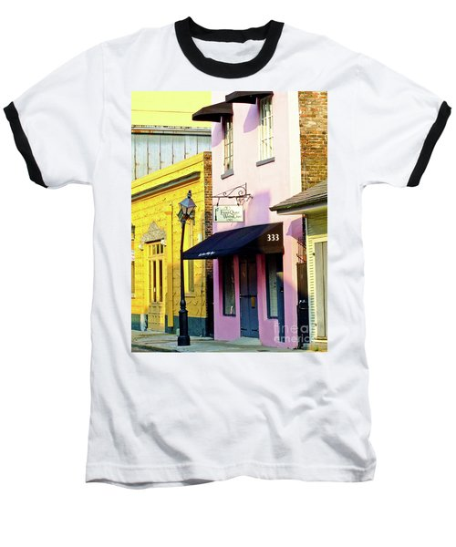 The French Quarter Wedding Chapel Baseball T-Shirt