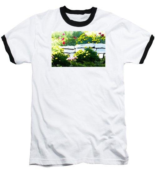 The Garden Wall Baseball T-Shirt by David Blank