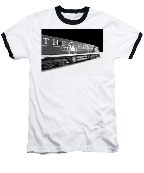 The Ghan Bw Baseball T-Shirt