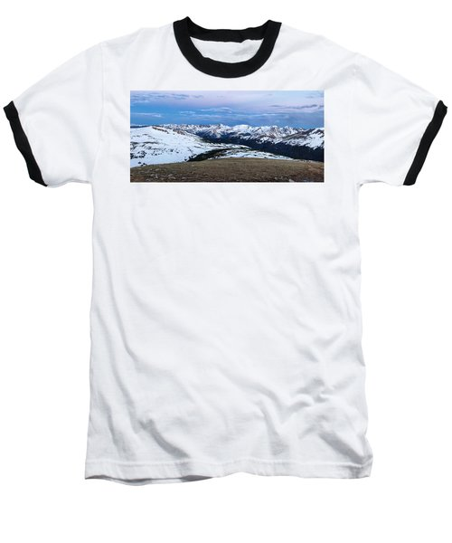 The Gore Range At Sunrise - Rocky Mountain National Park Baseball T-Shirt by Ronda Kimbrow