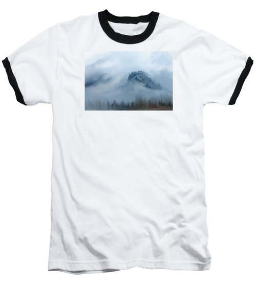 The Gorge In The Fog Baseball T-Shirt