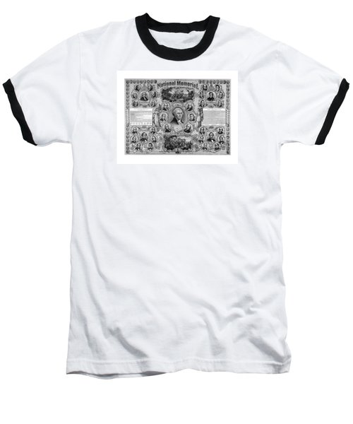 The Great National Memorial Baseball T-Shirt by War Is Hell Store