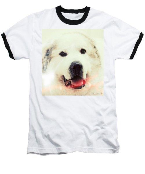 The Great Pyrenean Baseball T-Shirt