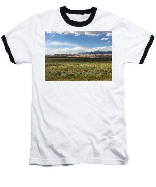 The Great Sand Dunes Baseball T-Shirt