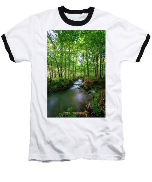 The Green Forest Baseball T-Shirt
