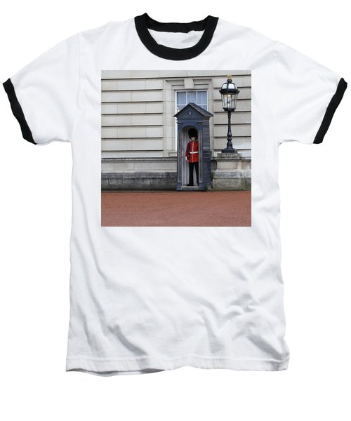 The Guard At Buckingham Palace Baseball T-Shirt