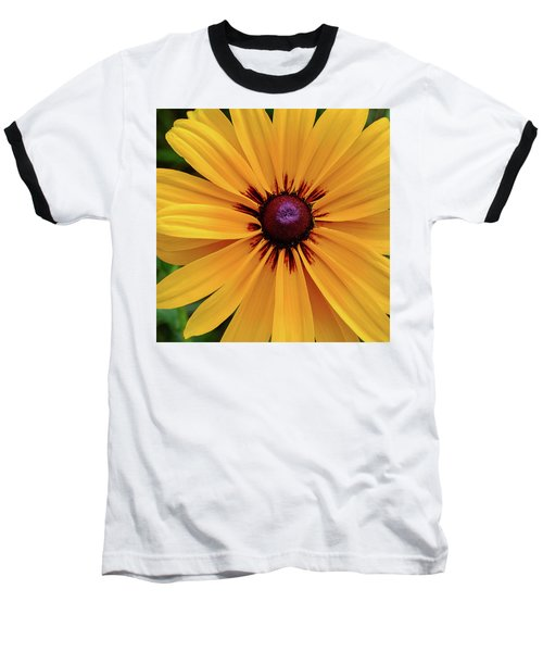 Baseball T-Shirt featuring the photograph The Heart Of A Flower by Monte Stevens