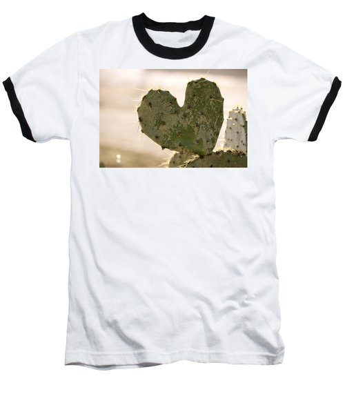 Baseball T-Shirt featuring the photograph The Heart Of Texas by Debbie Karnes
