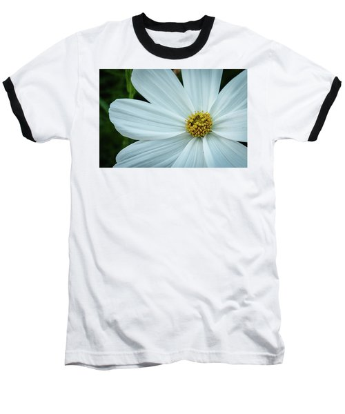The Heart Of The Daisy Baseball T-Shirt by Monte Stevens