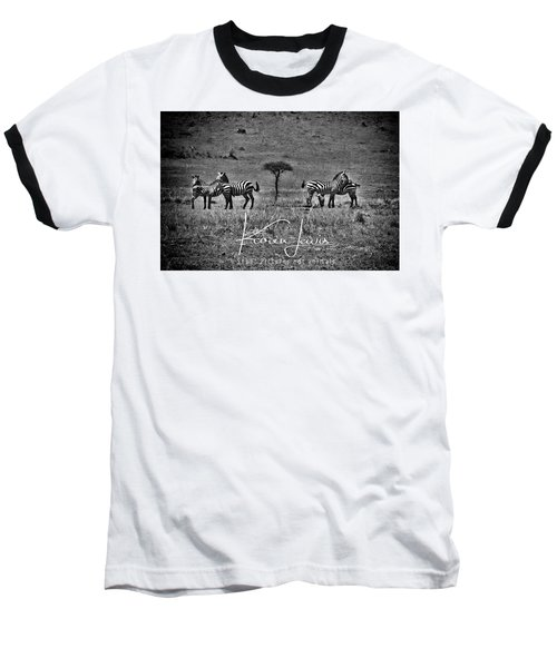 Baseball T-Shirt featuring the photograph The Herd by Karen Lewis