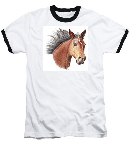 The Horse Baseball T-Shirt by Mike Ivey