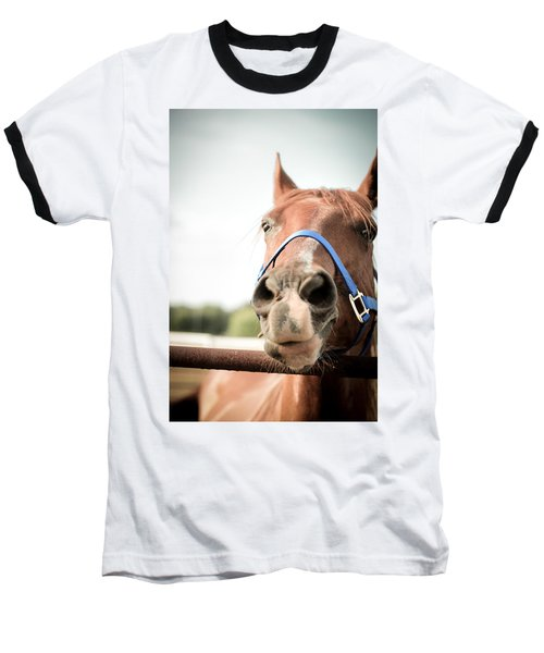 The Horse's Mouth Baseball T-Shirt