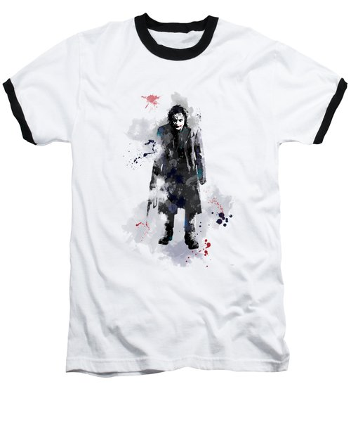 The Joker Baseball T-Shirt by Marlene Watson