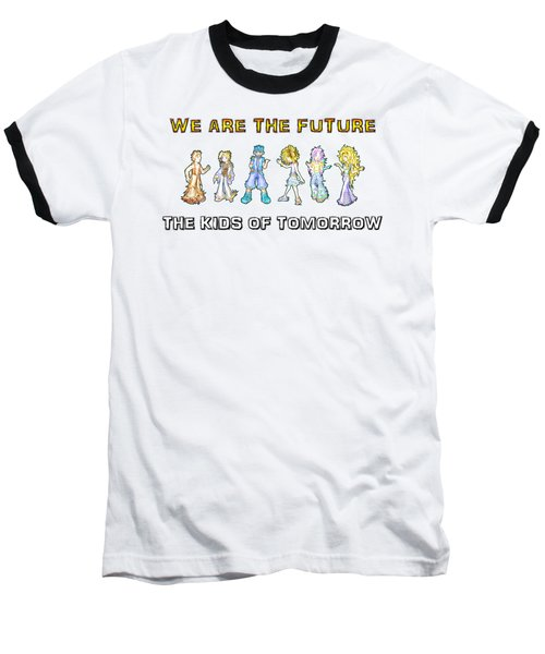The Kids Of Tomorrow Baseball T-Shirt by Shawn Dall