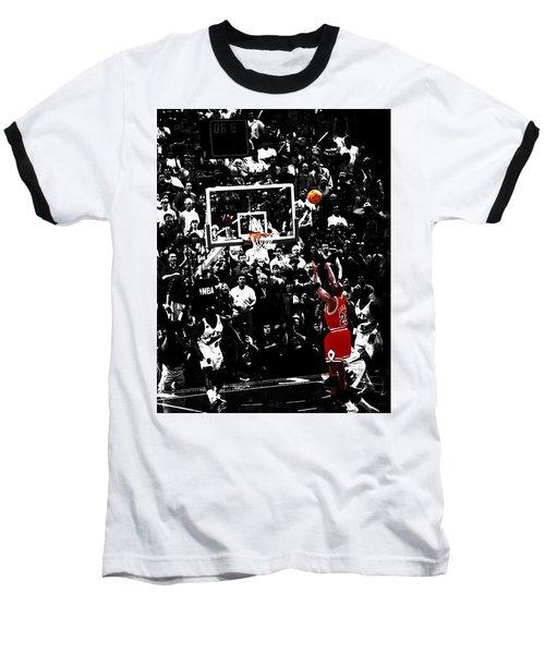 The Last Shot 23 Baseball T-Shirt by Brian Reaves