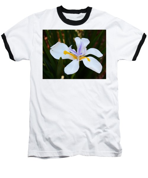 The Legacy African Iris Baseball T-Shirt by Warren Thompson