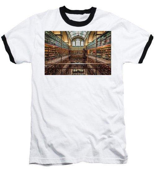 The Library Baseball T-Shirt