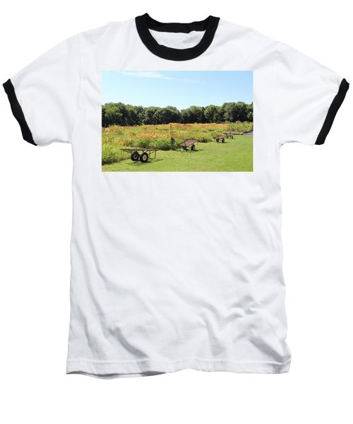 The Lilies Of The Fields Baseball T-Shirt