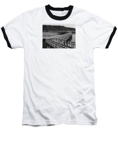 The Long Walk Baseball T-Shirt by I'ina Van Lawick