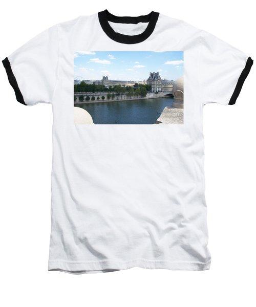 The Louvre Baseball T-Shirt