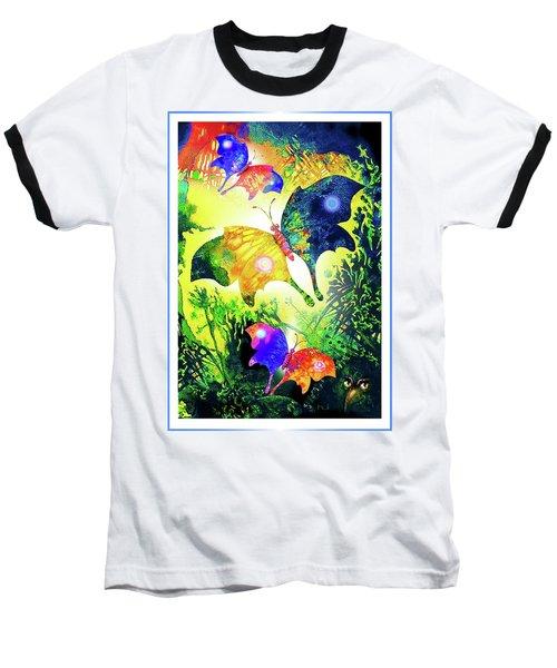 The Magic Of Butterflies Baseball T-Shirt