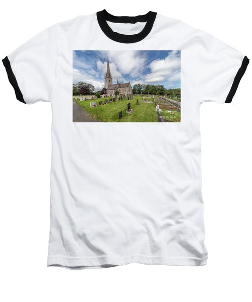 Baseball T-Shirt featuring the photograph The Marble Church by Adrian Evans