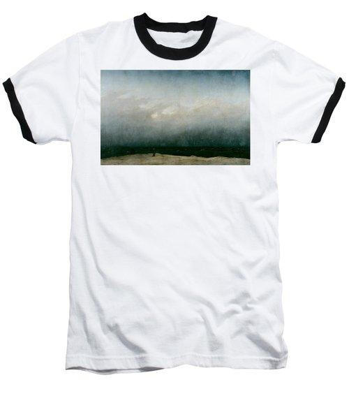 Monk By The Sea  Baseball T-Shirt