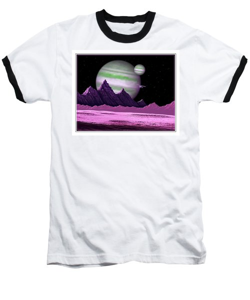The Moons Of Meepzor Baseball T-Shirt
