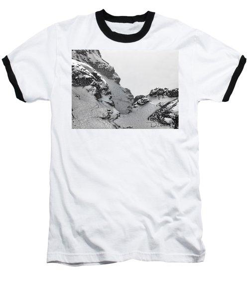 The Mountain Abyss Baseball T-Shirt